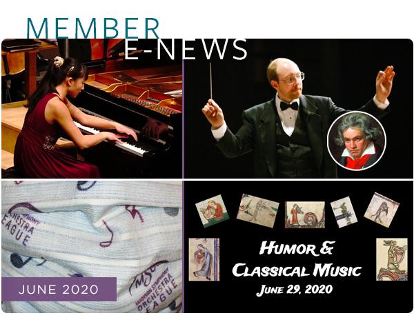 Symphony E-News & Stories, June 2020 photo